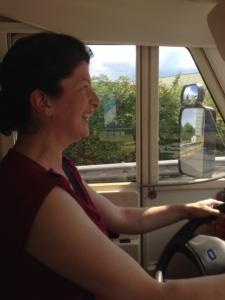 Ellies first drive